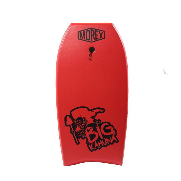 בוגי מדגם Big Kahuna של חברת Morey BodyBoards.בוגי נוח וקשיח, בנוי לתפיסת מהירות תוך כדי שמירה על יציבות לאורך הגל.מתאים לכל דרגות הגלישה.מגיע במבחר צבעים שונים ומדליקים.