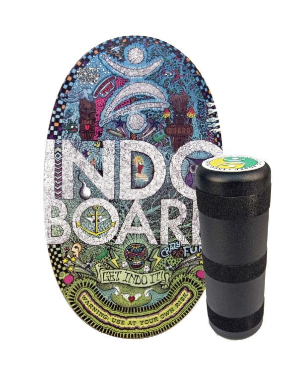 אינדובורד (INDO BOARD) דגם Doodle הוא האימון המושלם לשיפור היציבות.