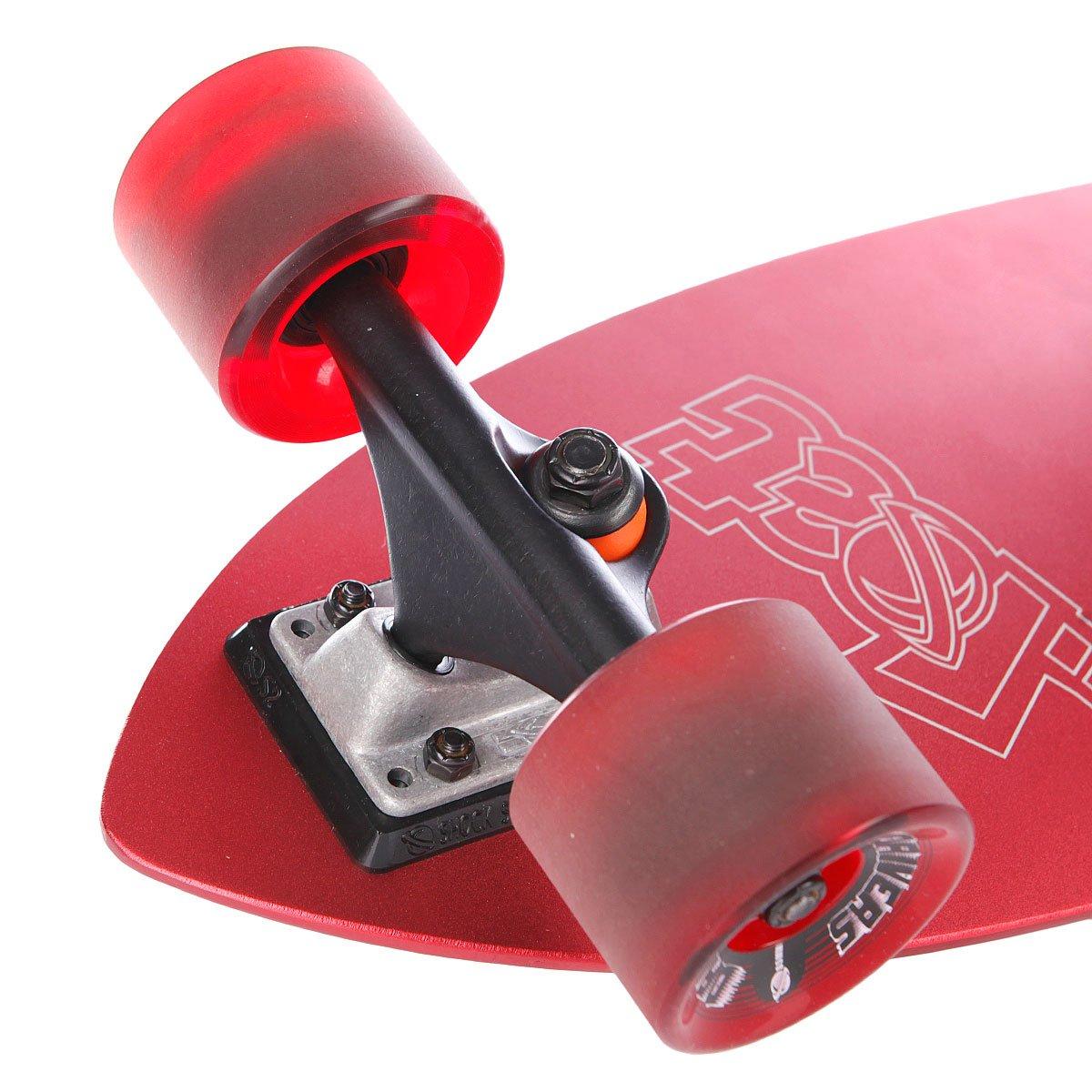 The Hesher של חברת LOST הוא סקייטבורד קטן ומגניב. The Hesher מגיע עם גלגלים רכים שסופגים כל בור במדרכה. הקרש עצמו עשוי מסוג מיוחד של אלומיניום שמשמש לבניית מטוסים מה שהופך אותו לקרוזר מעולה וחזק.