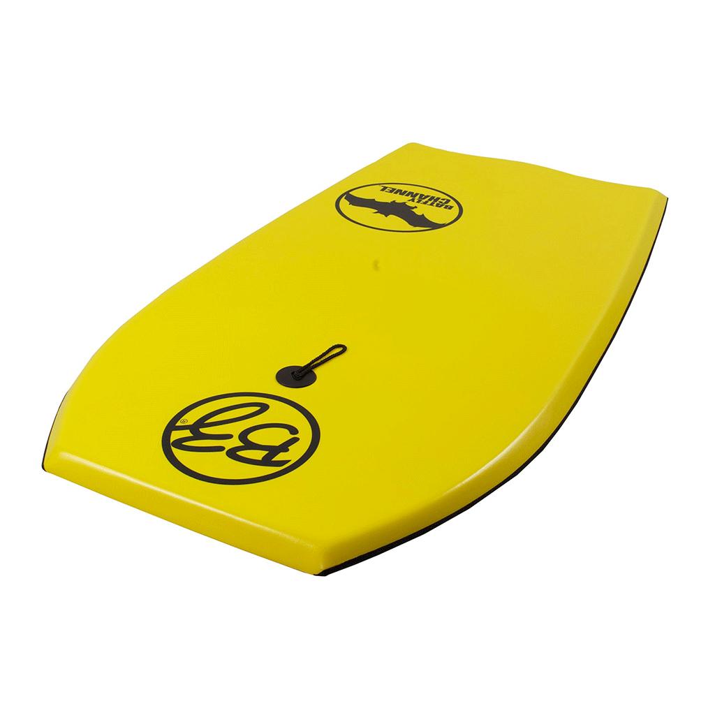 גלשן בוגי צהוב זווית 2 batfly bzproboard