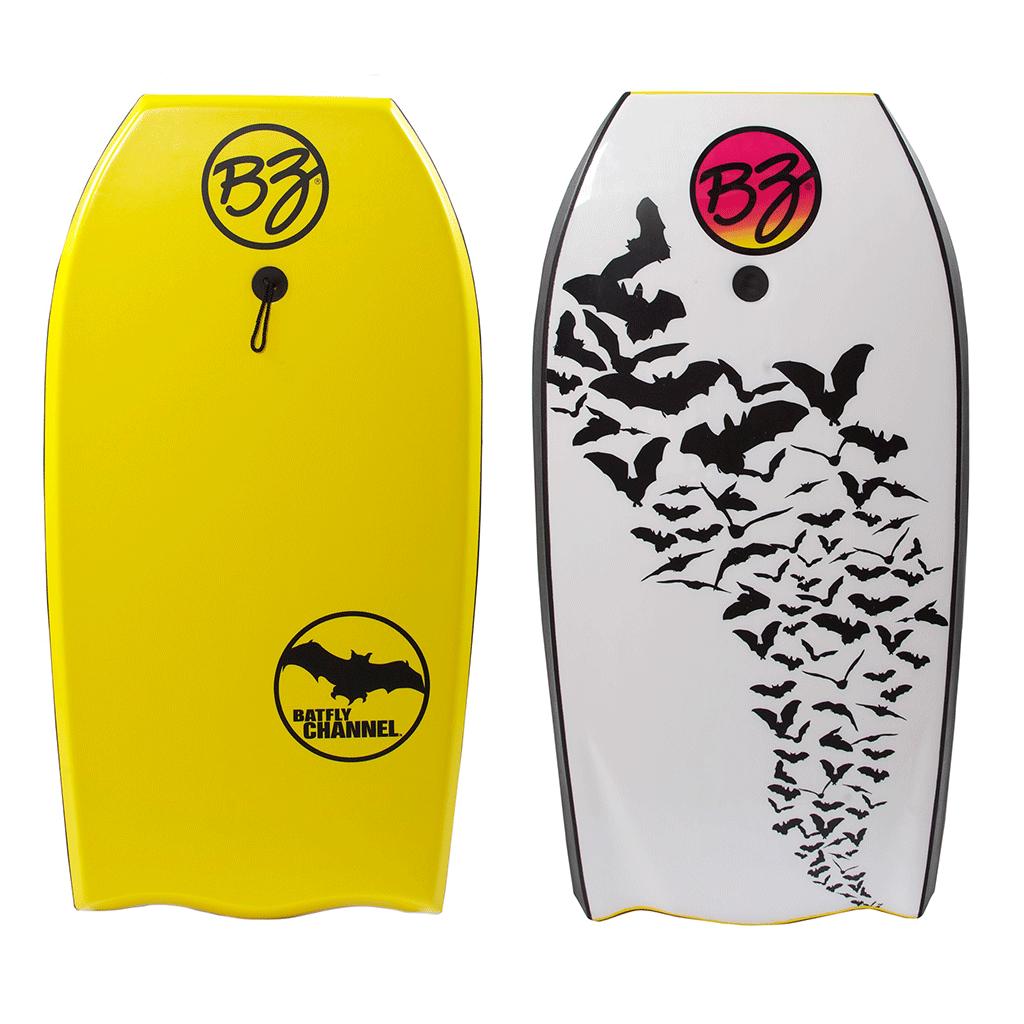 גלשן בוגי צהוב batfly bzproboard