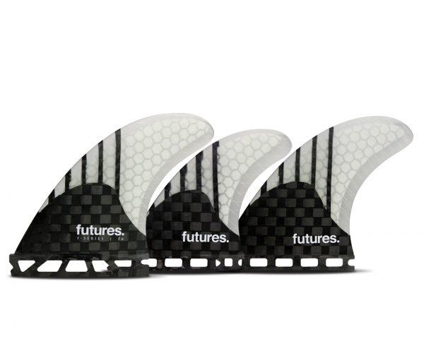 סט חרבות 5-Generation fin של חברת Futures Fins.עם עיצוב מאוזן ה F6 Generation Series 5-Fin הוא סט מדהים וחדשני.היחודיות של הסט הזה הוא צורת הבניה החדשה, Generation.אשר משיקה חברת Futures בימים אלו בעולם הגלישה.הצורה המיוחדת בה מונח הקארבון נותנת חרב קצת יותר קשיחה מה Blackstix אבל עדיין לא קשיחה מידי.זהו שילוב מנצח!