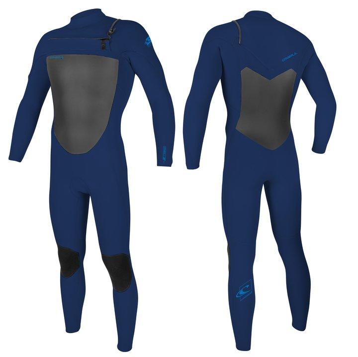 חליפת גלישה Epic סגירת חזה של Oneill צבע כחול כחול