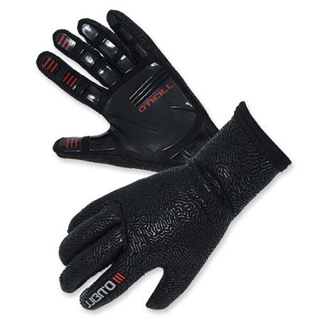 """כפפות גלישה O'Neill מדגם Epic Split Fingers בנויות מ 100% Fluidflex נאופרן והיא מיועדת לגלישה במים קרים. הכפפות מודבקות בסרט הדבקה פני מגובה בהגבקה חיצונית. הכפפות מגיעות בעיצוב מינימלי מאד גמיש, כף היד בנויה מגומי איכותית עם טקסטורה לשיפור האחיזה של אצבעות על לגלשן אוניל חשבו על הכל בייצור של הEpic Split Fingers הן מגיעותבעובי 2 מ""""מ, שומרות על חום ונוחות לגלישה. אחד הדברים החשובים ביותר בקניית חליפת גלישה היא התאמת המידה, ב-Ultrawave יש לנו למעלה מ 40 שנה של ניסיון בהתאמת חליפות גלישה לגלושים. אנחנו תמיד זמינים בטל במייל ובחנות לכל שאלה."""