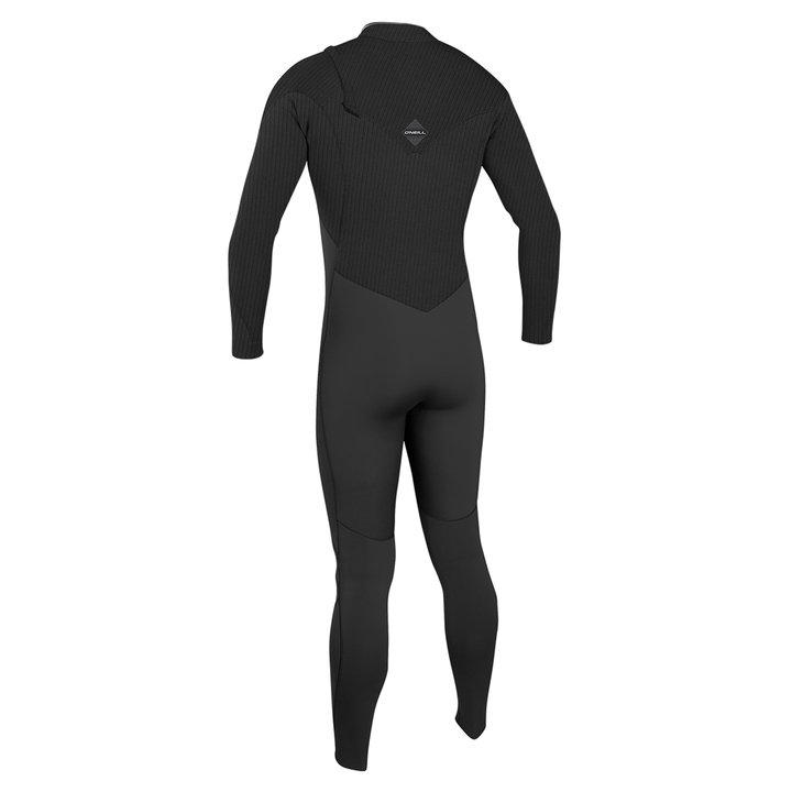 חליפת גלישה hyperfreak צבע שחור מגיעה ב 3/2 / 4/3 / 5/4 תמונה גב