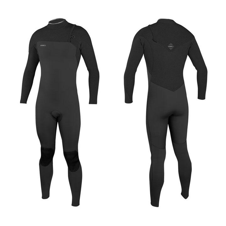 חליפת גלישה hyperfreak צבע שחור מגיעה ב 3/2 / 4/3 / 5/4 תמונה ראשית