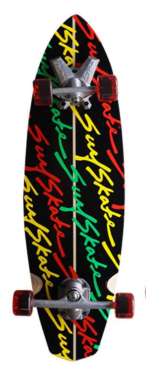 סקייטבורד של חברת SurfSkate מדגם Stunner. ה-SurfSkate מדמה גלישה עם ציר קדמי 360, אין דבר יותר קרוב לגלישה על בטון מהסקייטבורד הזה. מתאים מאוד לרמפות ולתרגול ביצועים חדים ממש כמו בגלישת גלים. ה-SurfSkate יעשה אותכם גולשים יותר טובים גם בימים שאין גלים...