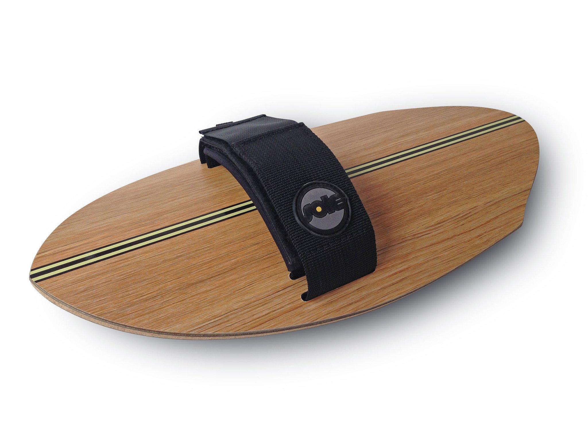 גלשן יד ה-Woodie Pin-Tail מתלבש על כף היד לגלישת Bodysurfing.מגיע עם זנב Round.עשויי מעץ וחתוך בלייזר.הקונקייב בתחתית נותן הרבה מהירות.