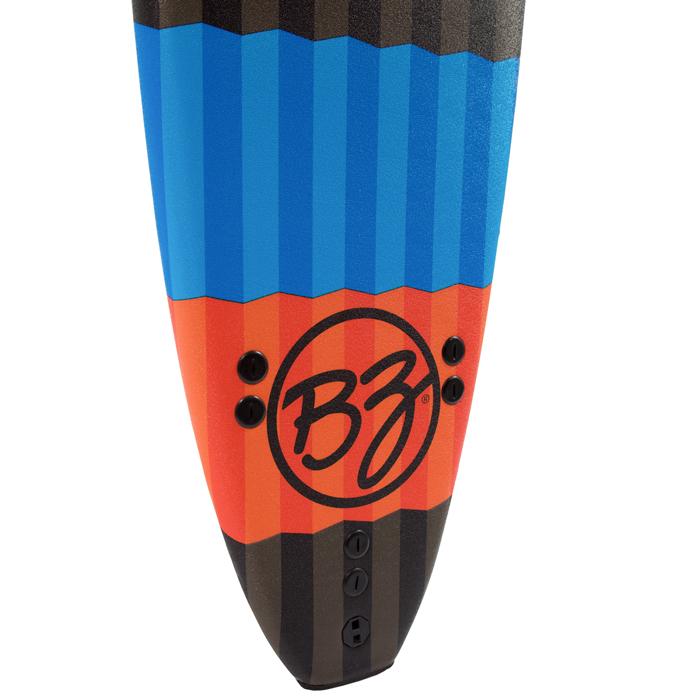 גלשן לימוד סופט EPS, של חברת BZ.זנב סקווש כדי לאפשר לגלשן הזה לזוז למרות הגודל שלו.מגיע עם חרבות F.c.s Thruster, גלשן מדהים לחודשי הקיץ שלנו.