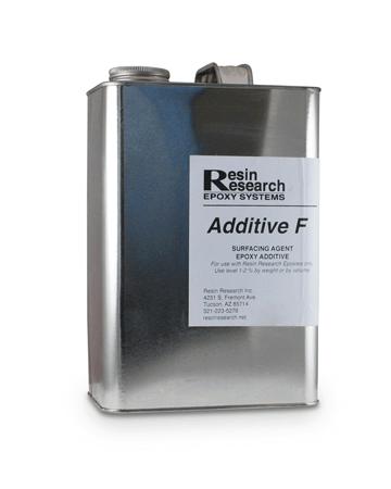 Aditive F הוא תוסף לאפוקסי.שתי שימושים עיקריים לתוסף זה הם הקלה בשיוף אפוקסי, ומדלל לאפוקסי.