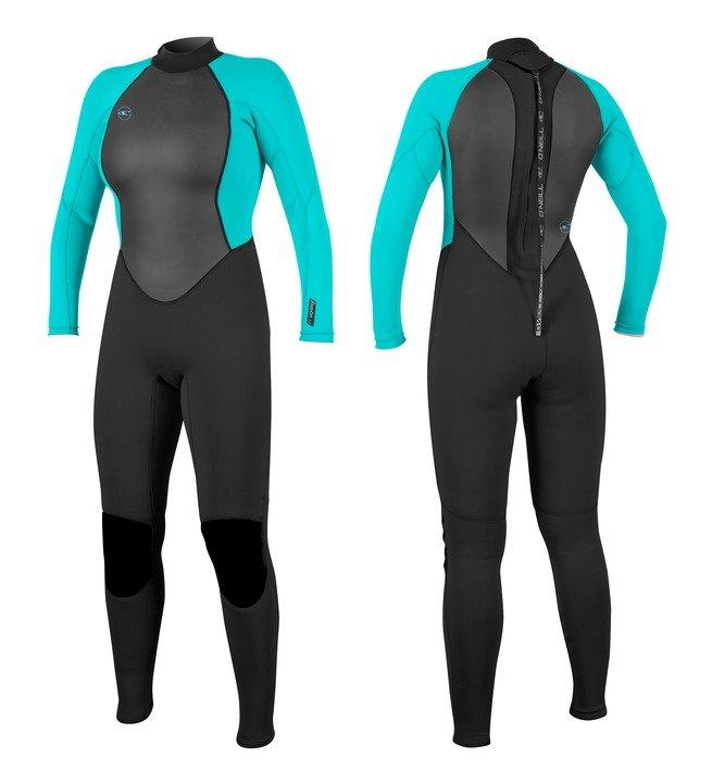 חליפת גלישה reactor נשים צבע שחור כחול