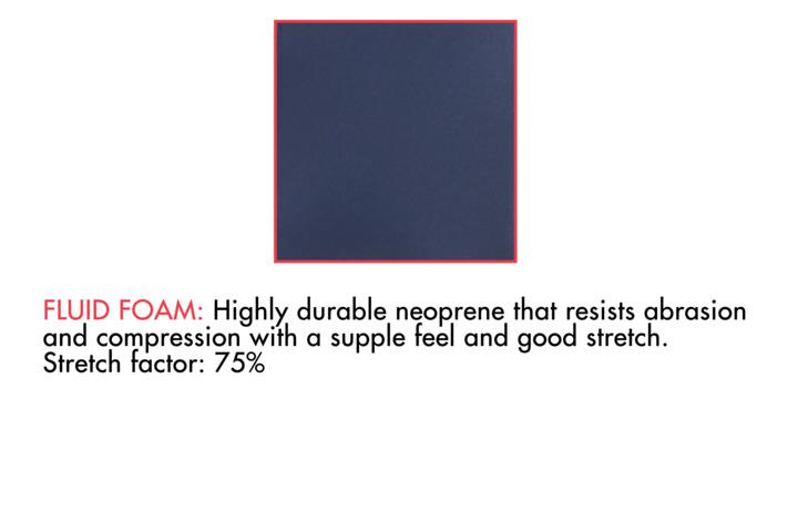 Fluid foam אחד מהחומרים החדשים בבניית חליפת גלישה Reactor של Oneil
