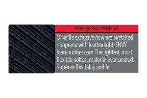 חליפת גלישה Oneill היא גמישה בטירוף עם חומרים כמו ה-TechnoButter 3x היא אפילו קלה יותר ממה שהייתה שנה שעברה!!