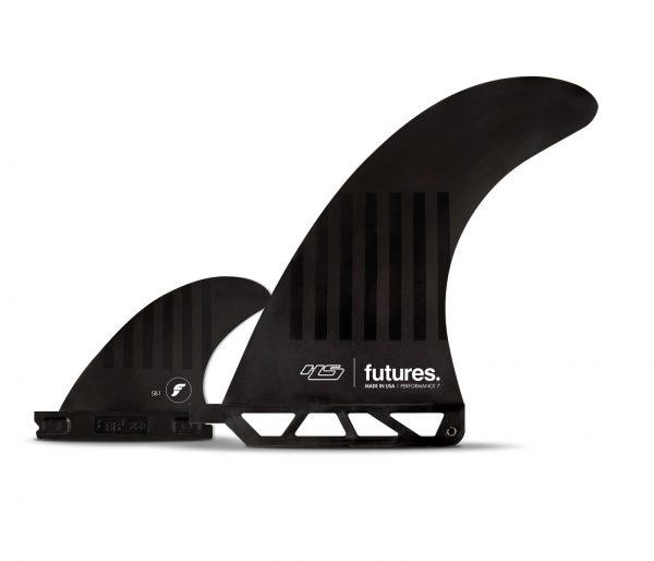 סנפירים 2+1 של חברת Futures מידה 6״